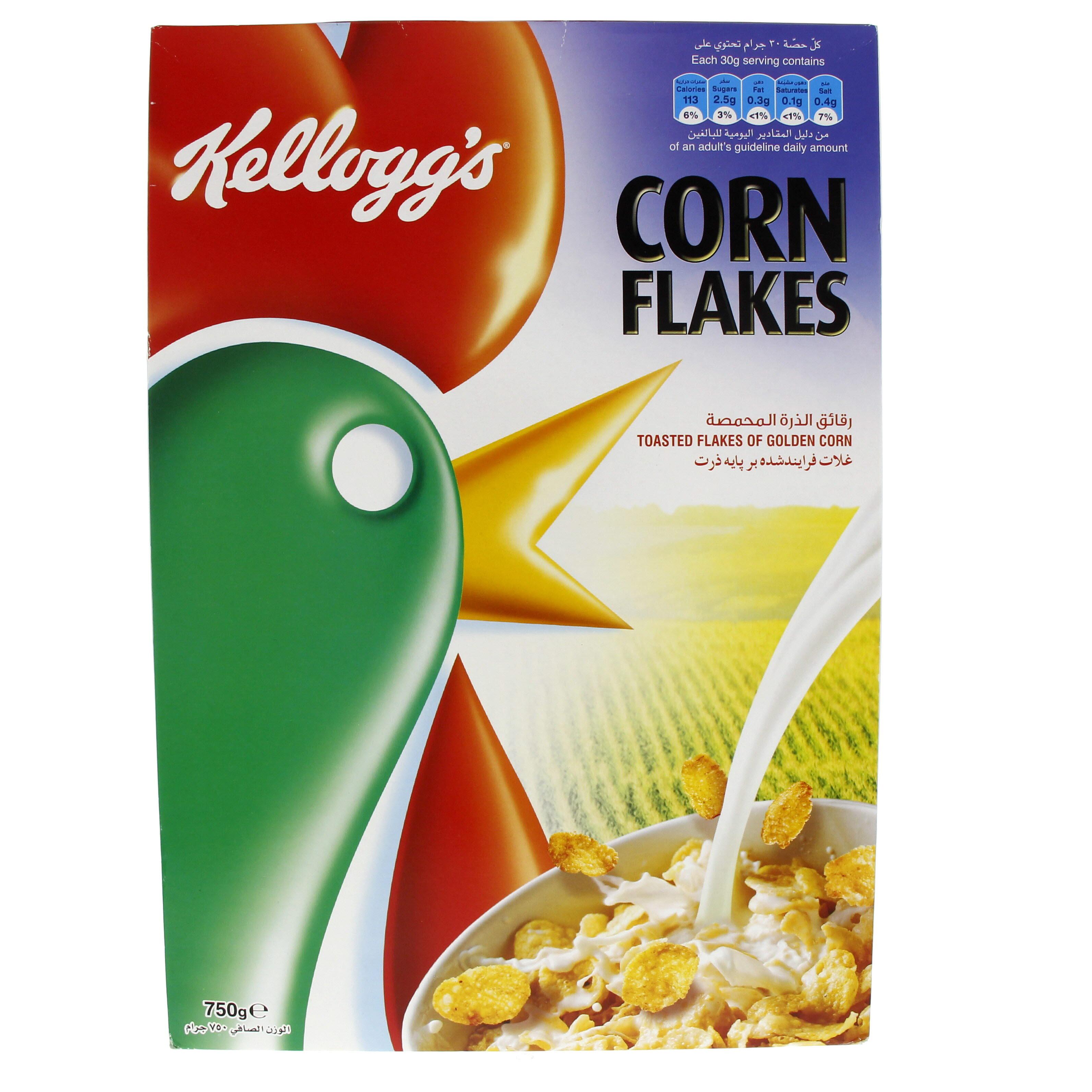Kelloggs Corn Flakes 750 Gm Mercatco Deal
